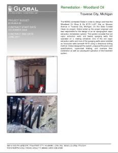 Remediation – Woodland Oil